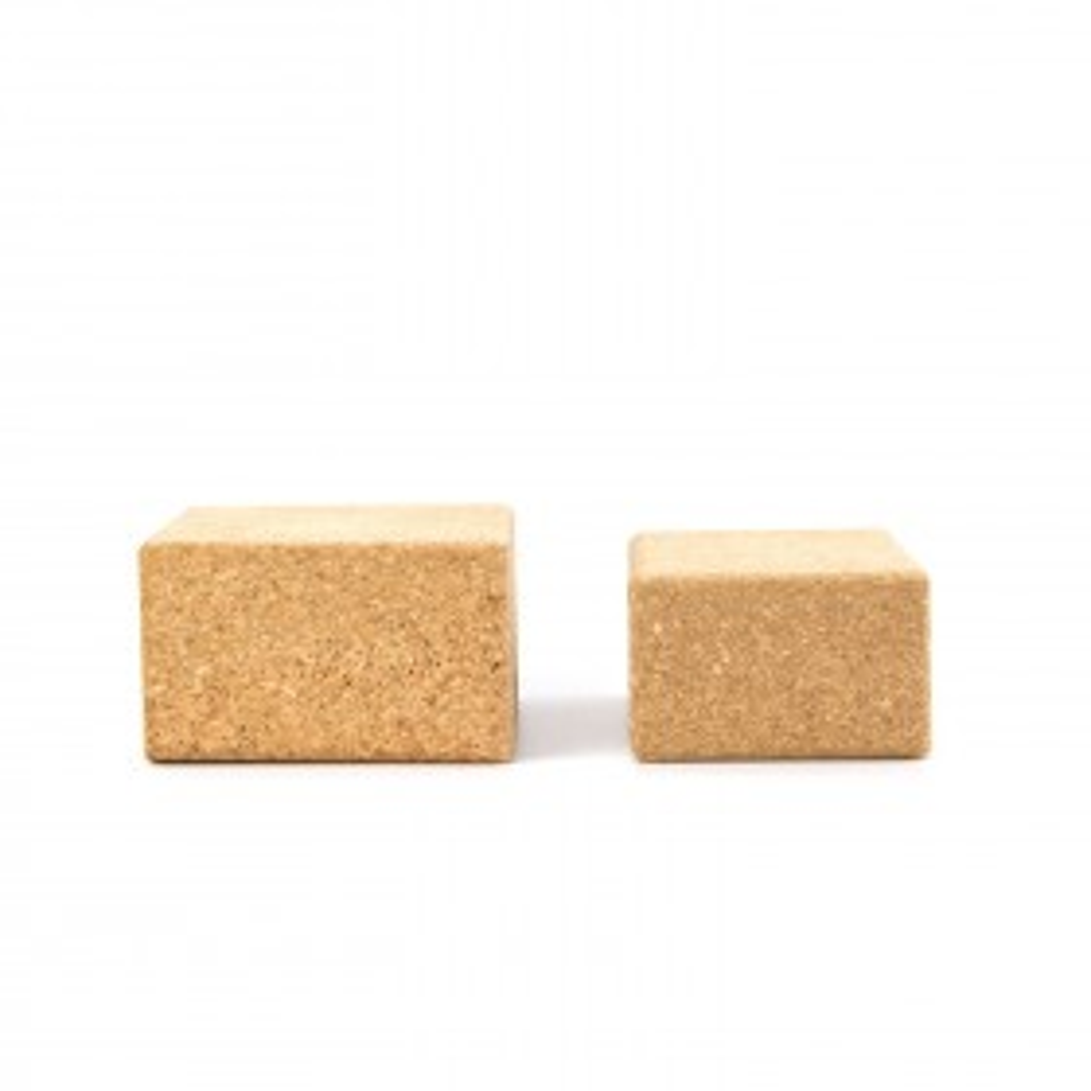 "Recycled Cork Yoga Block ""ReBlock"" | ReYoga"