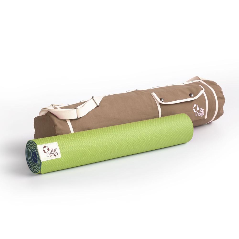 "Yoga Mat Carrier Bag ""ReBag""   ReYoga"